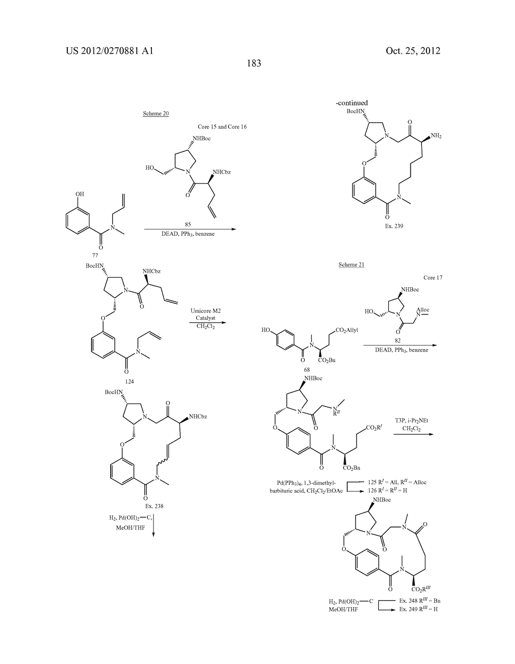 CONFORMATIONALLY CONSTRAINED, FULLY SYNTHETIC MACROCYCLIC COMPOUNDS - diagram, schematic, and image 186
