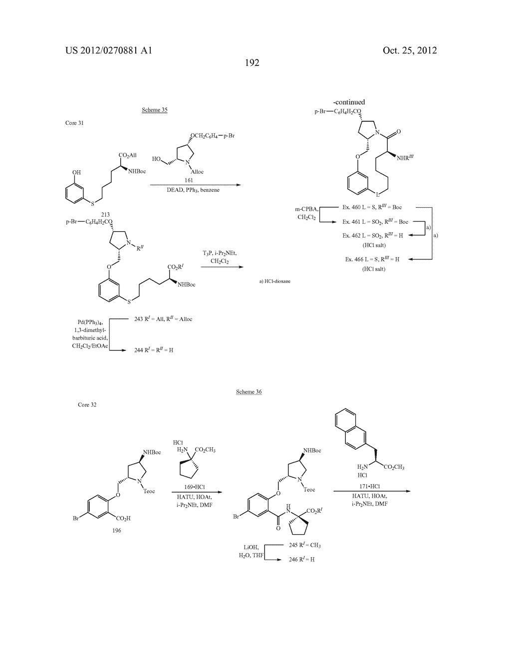 CONFORMATIONALLY CONSTRAINED, FULLY SYNTHETIC MACROCYCLIC COMPOUNDS - diagram, schematic, and image 195