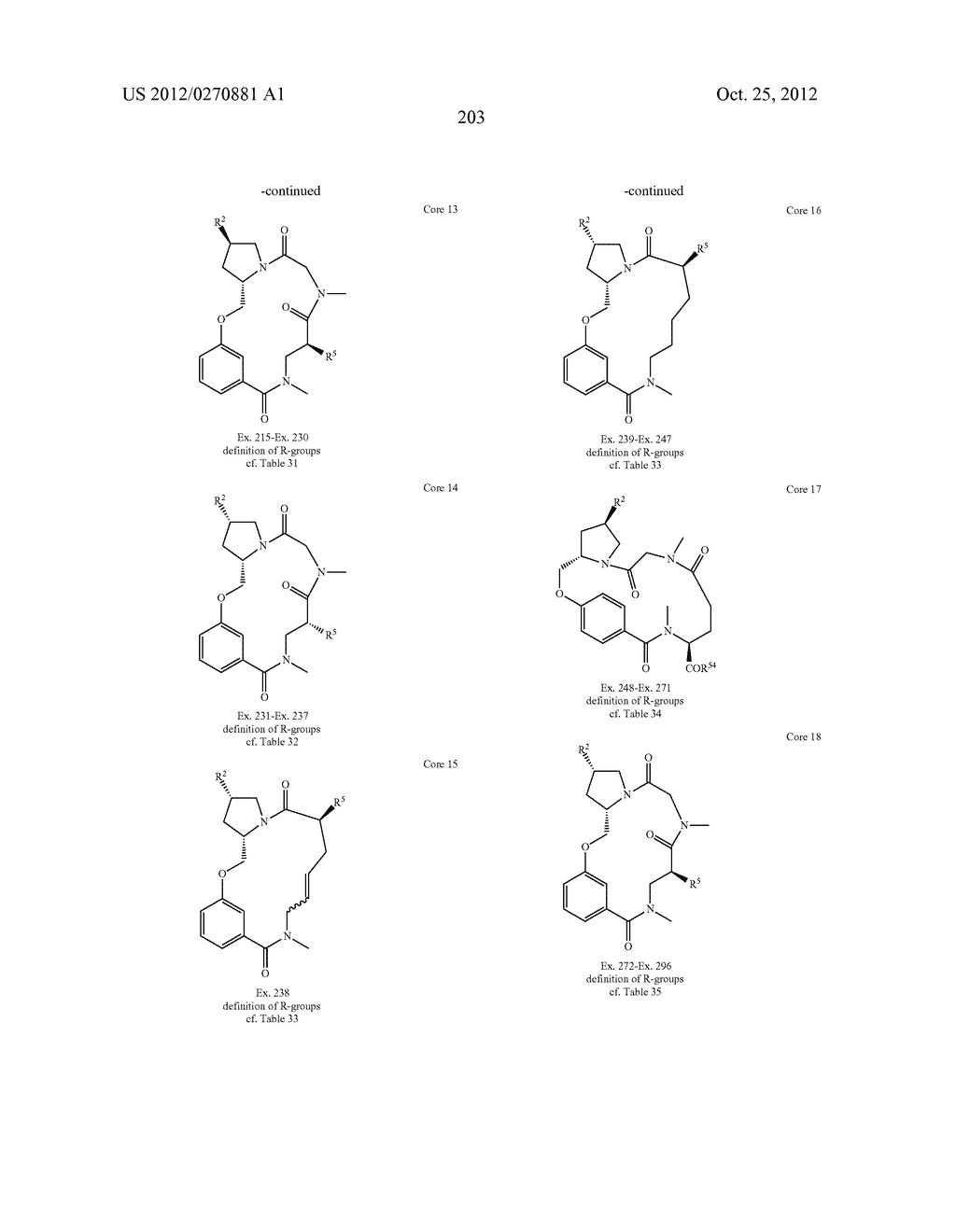 CONFORMATIONALLY CONSTRAINED, FULLY SYNTHETIC MACROCYCLIC COMPOUNDS - diagram, schematic, and image 206