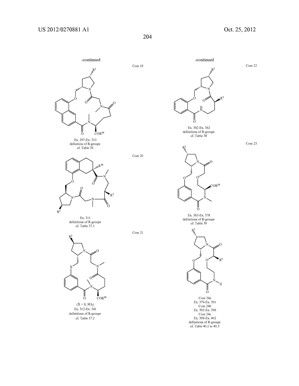 CONFORMATIONALLY CONSTRAINED, FULLY SYNTHETIC MACROCYCLIC COMPOUNDS - diagram, schematic, and image 207