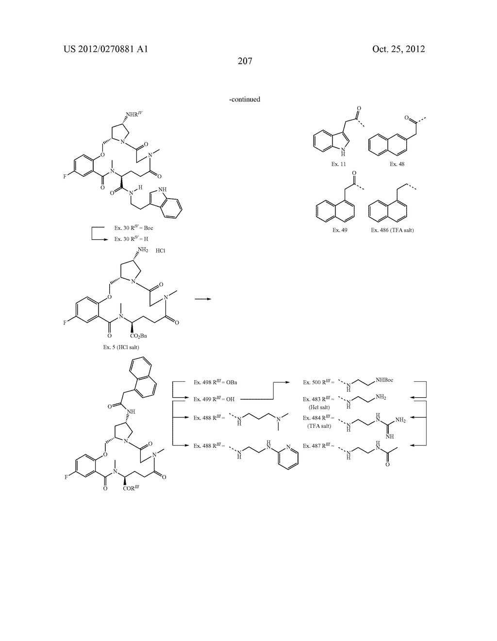 CONFORMATIONALLY CONSTRAINED, FULLY SYNTHETIC MACROCYCLIC COMPOUNDS - diagram, schematic, and image 210