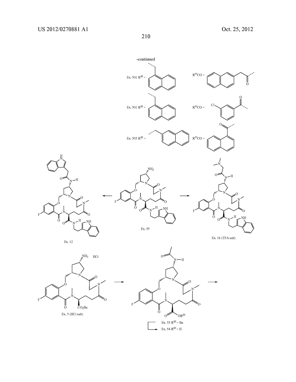 CONFORMATIONALLY CONSTRAINED, FULLY SYNTHETIC MACROCYCLIC COMPOUNDS - diagram, schematic, and image 213