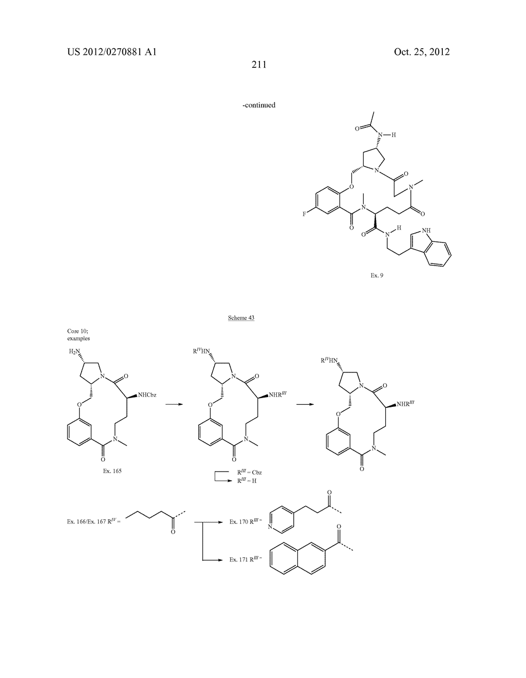CONFORMATIONALLY CONSTRAINED, FULLY SYNTHETIC MACROCYCLIC COMPOUNDS - diagram, schematic, and image 214