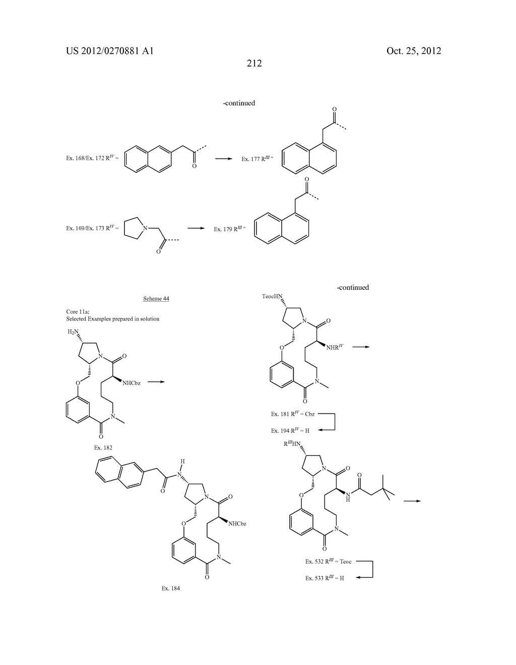 CONFORMATIONALLY CONSTRAINED, FULLY SYNTHETIC MACROCYCLIC COMPOUNDS - diagram, schematic, and image 215