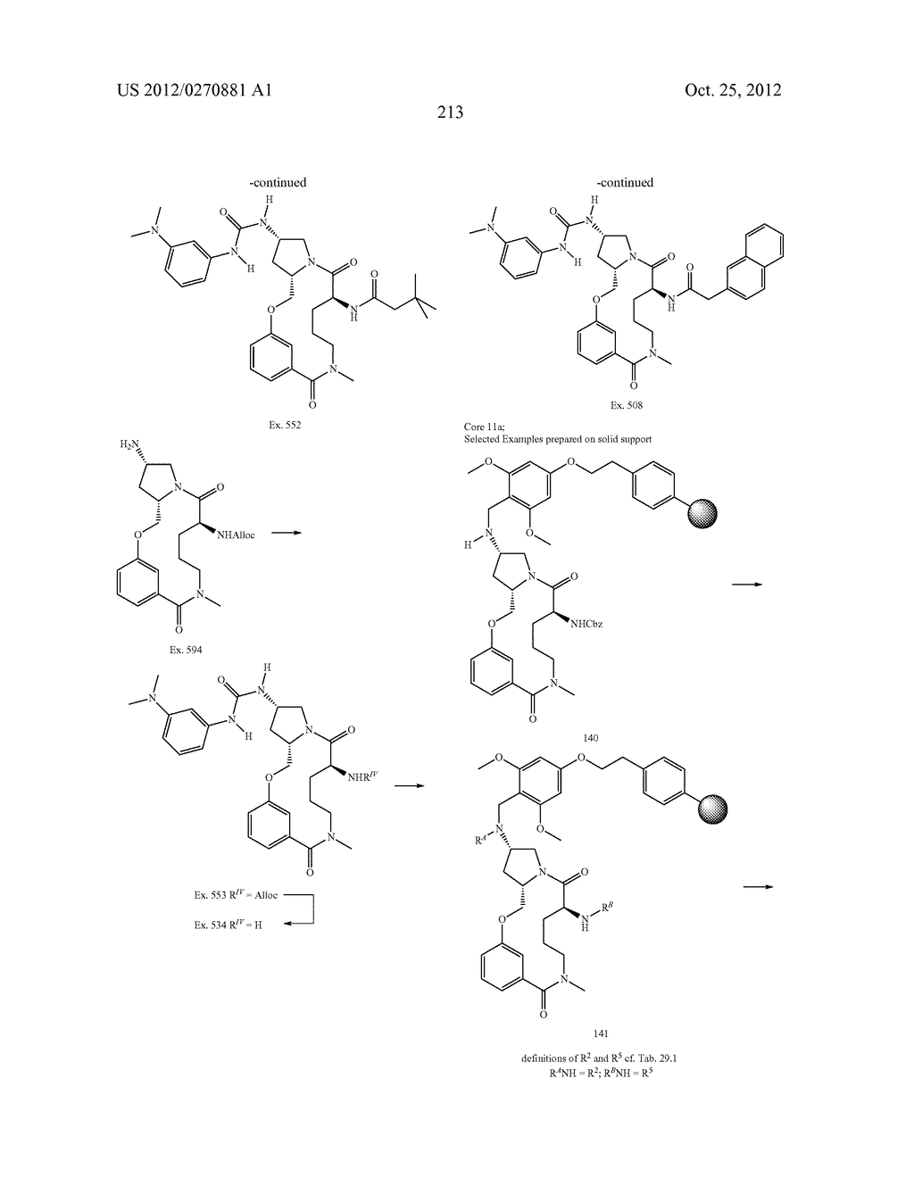 CONFORMATIONALLY CONSTRAINED, FULLY SYNTHETIC MACROCYCLIC COMPOUNDS - diagram, schematic, and image 216
