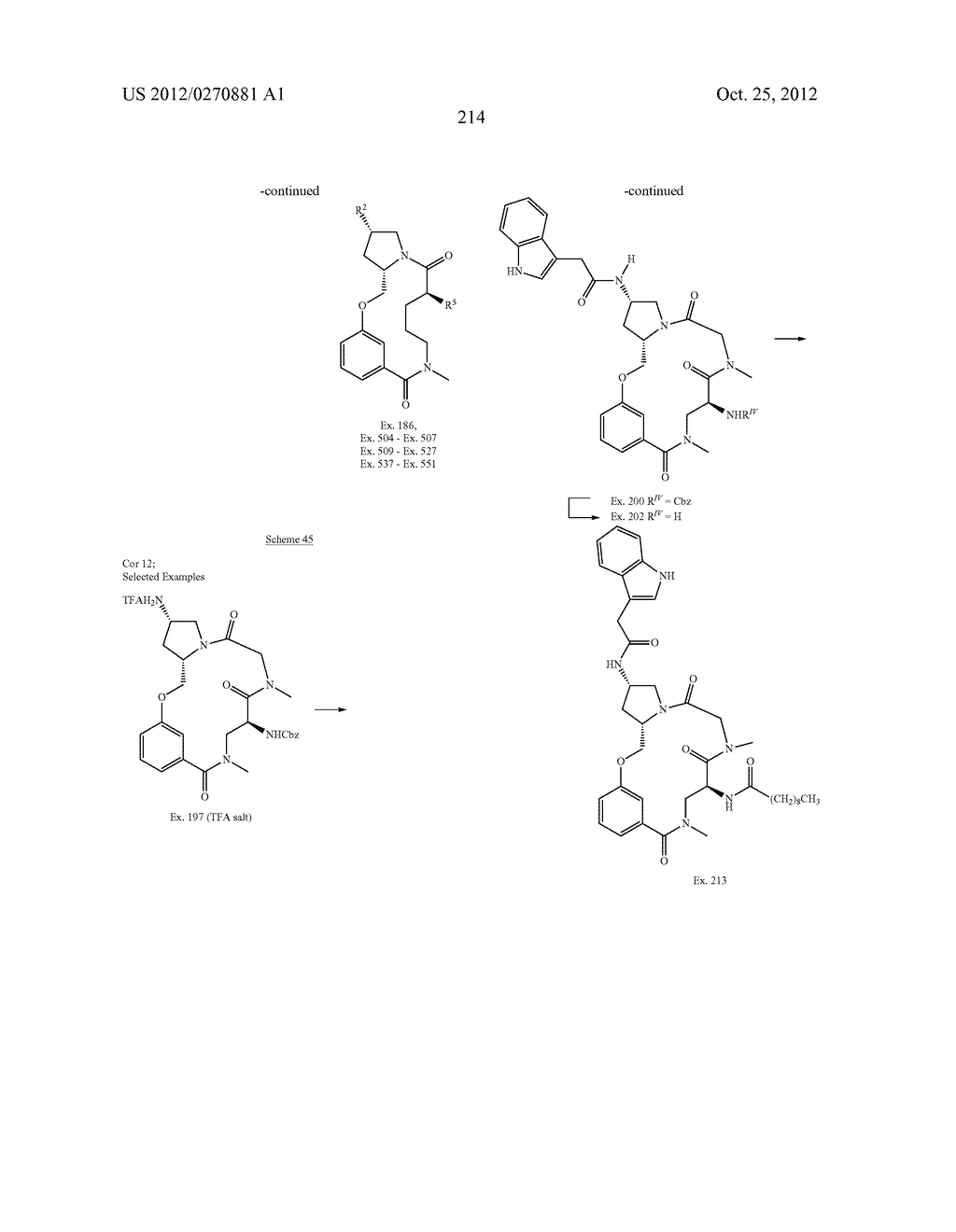 CONFORMATIONALLY CONSTRAINED, FULLY SYNTHETIC MACROCYCLIC COMPOUNDS - diagram, schematic, and image 217