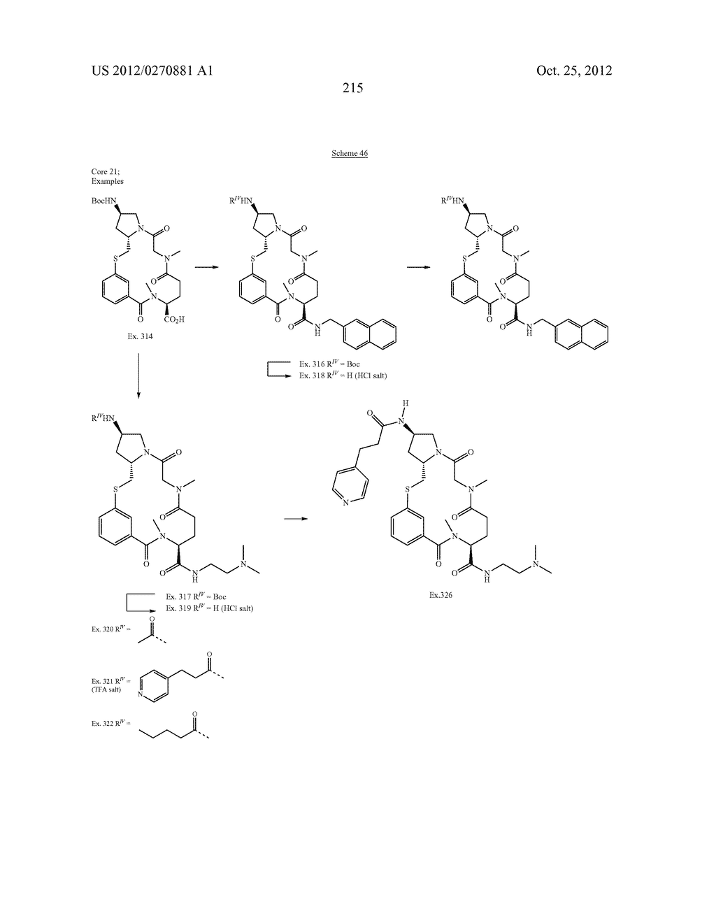 CONFORMATIONALLY CONSTRAINED, FULLY SYNTHETIC MACROCYCLIC COMPOUNDS - diagram, schematic, and image 218