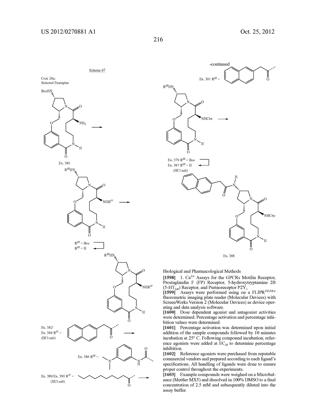 CONFORMATIONALLY CONSTRAINED, FULLY SYNTHETIC MACROCYCLIC COMPOUNDS - diagram, schematic, and image 219