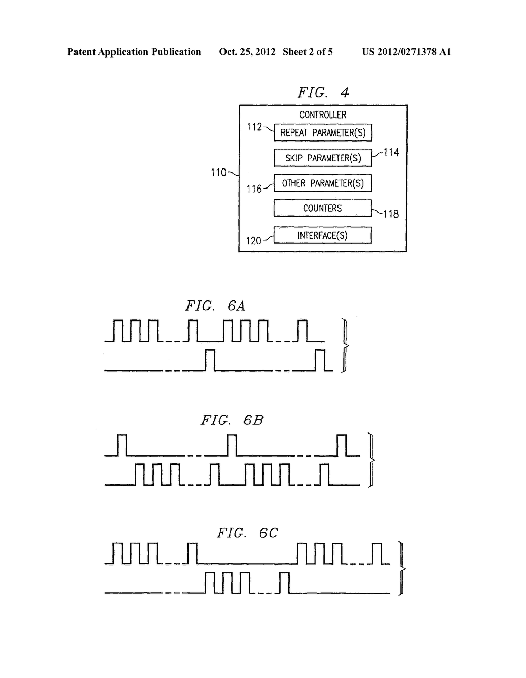 METHOD AND APPARATUS FOR PROVIDING COMPLEX TISSUE STIMULATION PATTERNS - diagram, schematic, and image 03
