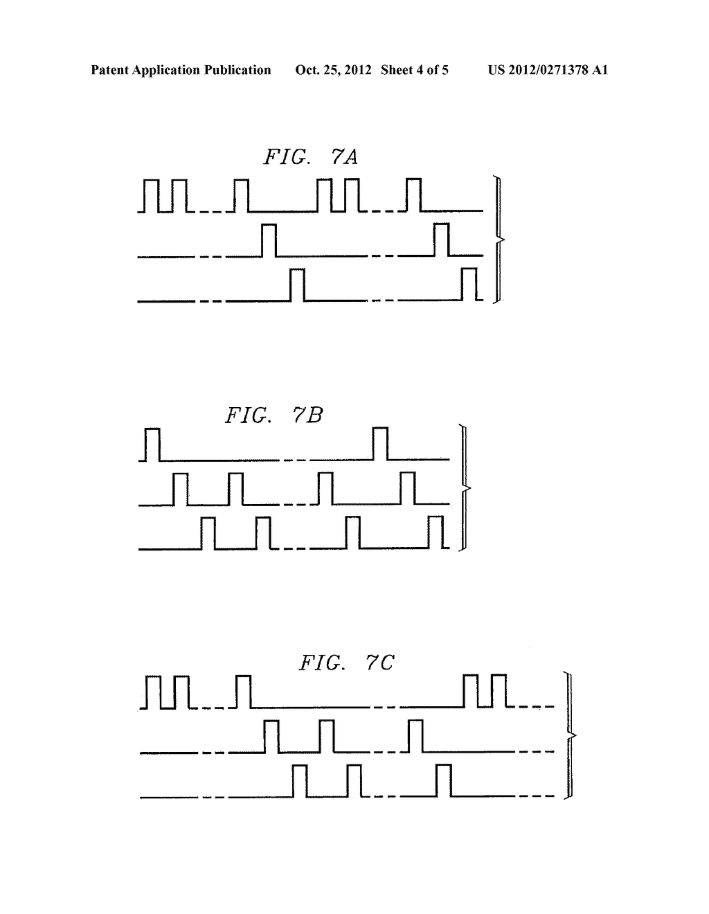 METHOD AND APPARATUS FOR PROVIDING COMPLEX TISSUE STIMULATION PATTERNS - diagram, schematic, and image 05
