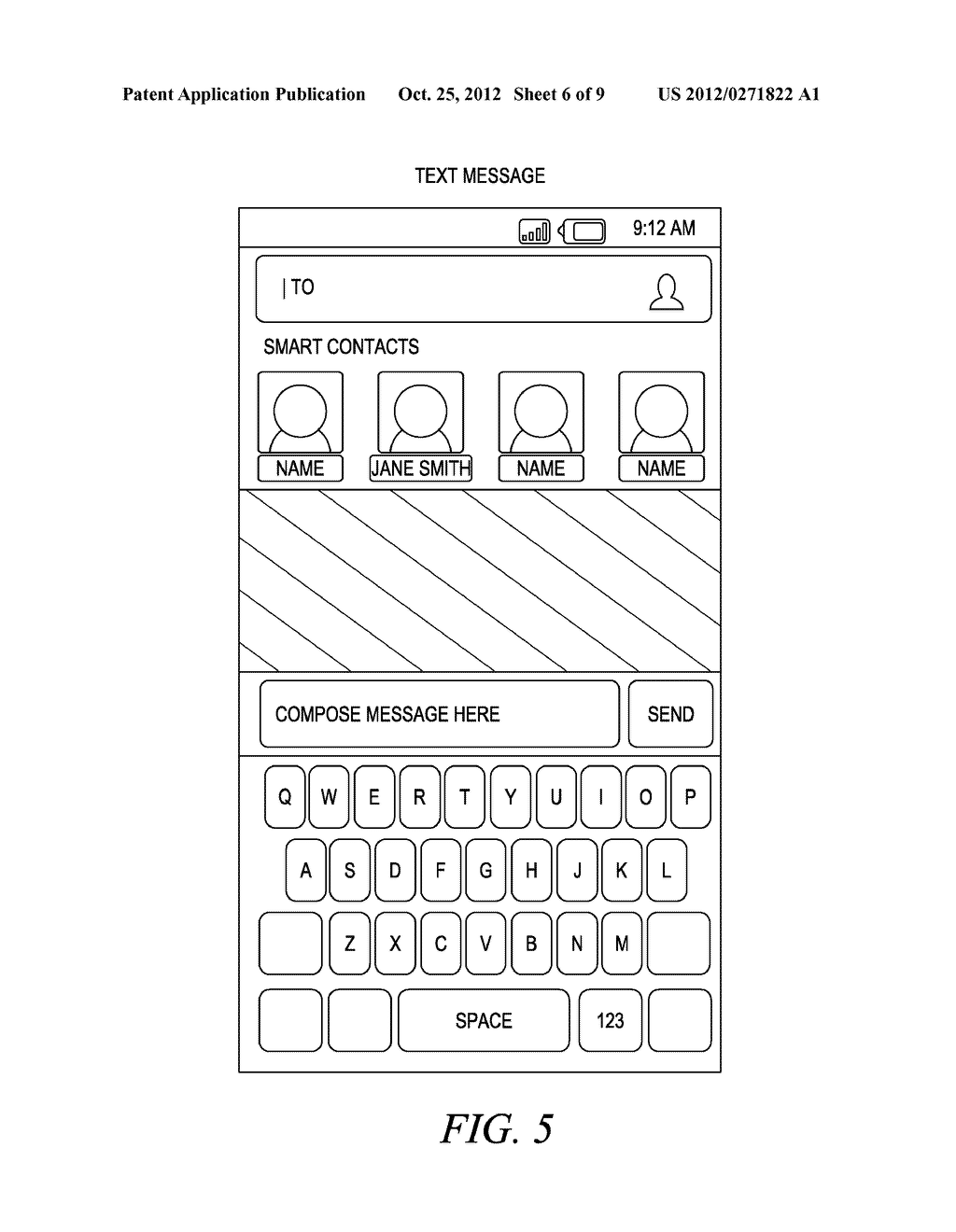 SYSTEM FOR ESTABLISHING PREFERRED CONTACTS FOR A CENTRAL USER OF A MOBILE     COMMUNICATION DEVICE - diagram, schematic, and image 07