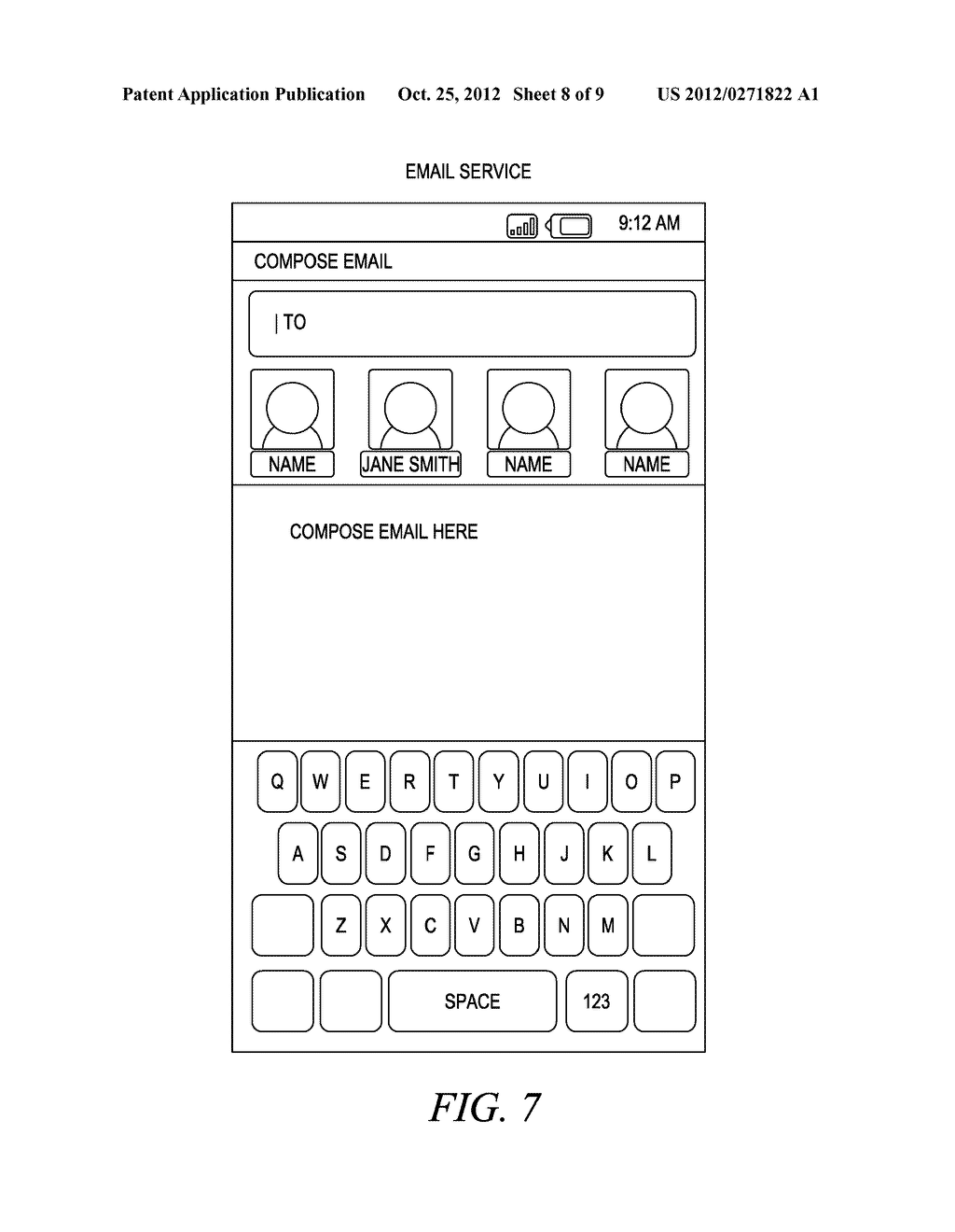 SYSTEM FOR ESTABLISHING PREFERRED CONTACTS FOR A CENTRAL USER OF A MOBILE     COMMUNICATION DEVICE - diagram, schematic, and image 09