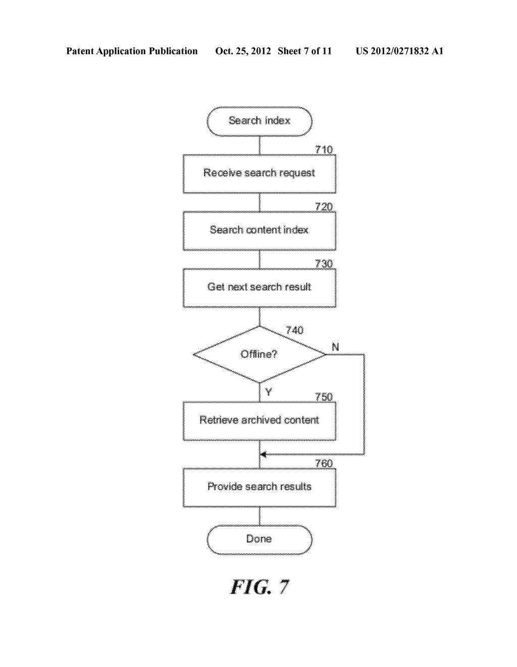 METHOD AND SYSTEM FOR SEARCHING STORED DATA - diagram, schematic, and image 08