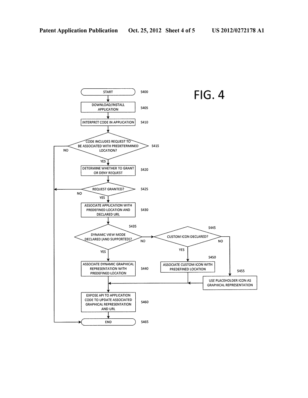 METHOD AND DEVICE FOR PROVIDING EASY ACCESS IN A USER AGENT TO DATA     RESOURCES RELATED TO CLIENT-SIDE WEB APPLICATIONS - diagram, schematic, and image 05