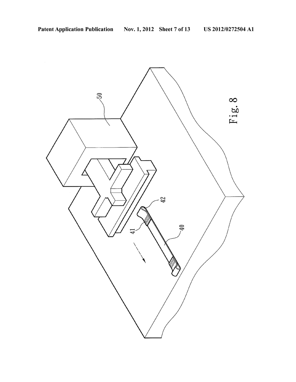 METHOD FOR FASTENING STRIPS TO LEISURE CHAIRS - diagram, schematic, and image 08