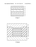 TUNNELING MAGNETORESISTIVE EFFECT ELEMENT AND SPIN MOS FIELD-EFFECT diagram and image