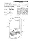 KEYPAD HAVING A CURVED SHAPE diagram and image