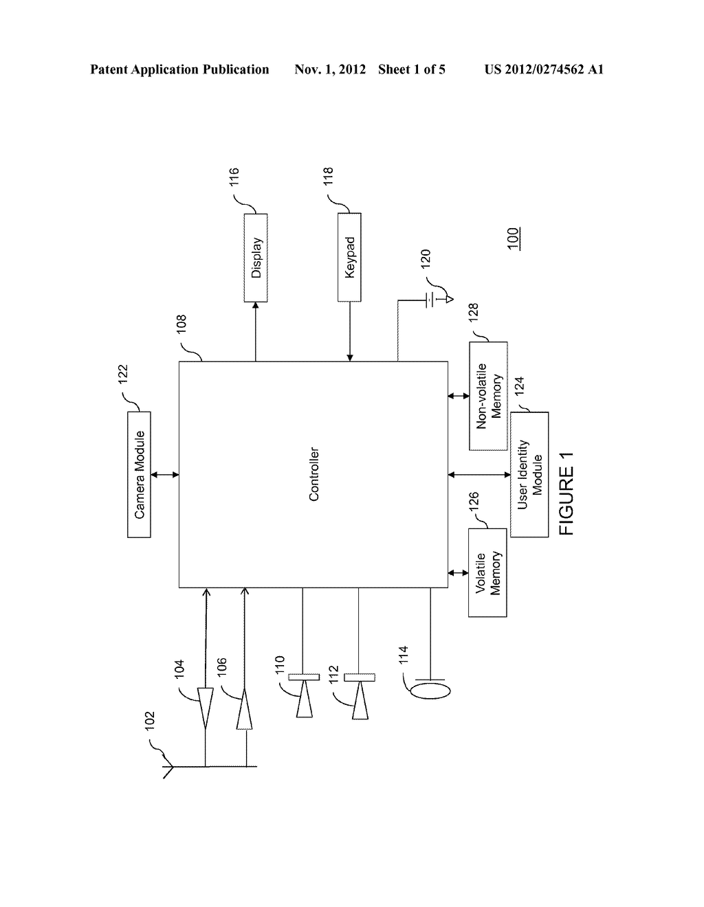 Method, Apparatus and Computer Program Product for Displaying Media     Content - diagram, schematic, and image 02