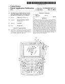 HANDHELD ELECTRONIC DEVICE WITH TEXT DISAMBIGUATION AND SELECTIVE     DISABLING OF FREQUENCY LEARNING diagram and image
