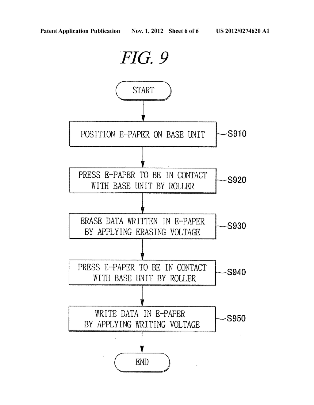 DATA WRITING APPARATUS FOR E-PAPER AND DATA WRITING METHOD USING THE SAME - diagram, schematic, and image 07