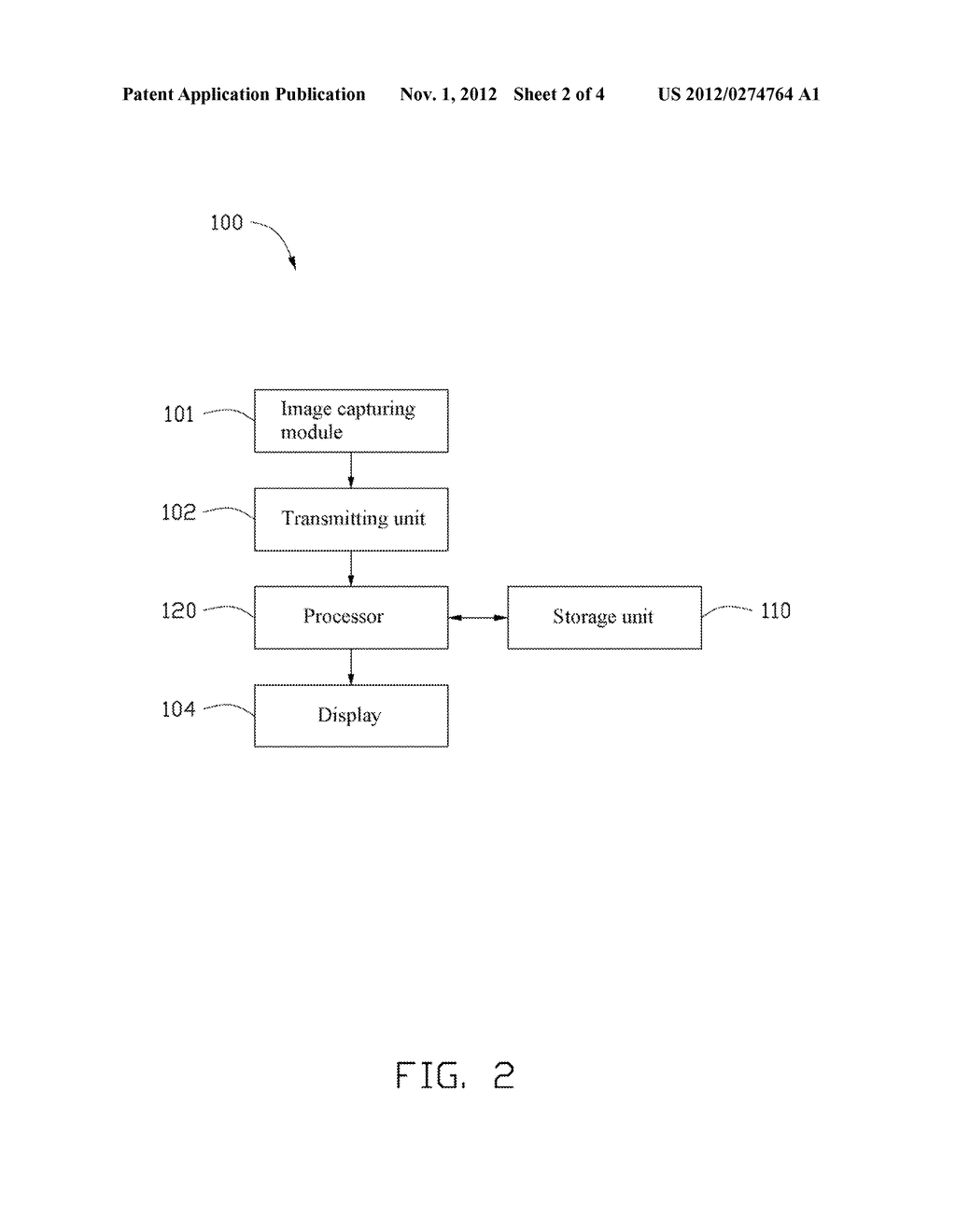 MONITORING SYSTEM AND METHOD FOR STORING VIDEO - diagram, schematic, and image 03