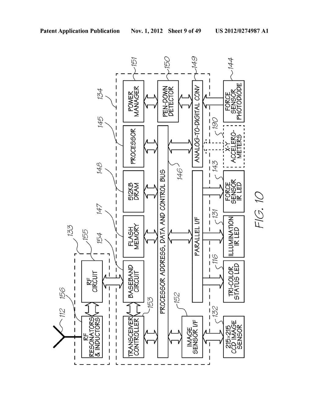 ELECTRONICALLY MESSAGE CAPTURE THROUGH INTERACTION WITH PRINTED DOCUMENT - diagram, schematic, and image 10