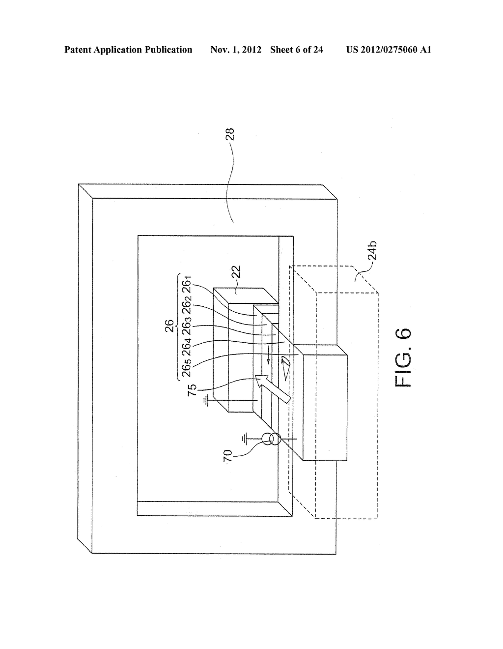 MAGNETIC HEAD WITH SPIN TORQUE OSCILLATOR AND MAGNETIC RECORDING HEAD - diagram, schematic, and image 07