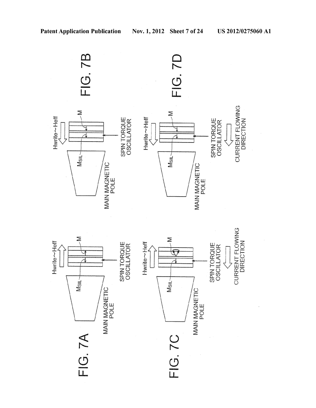 MAGNETIC HEAD WITH SPIN TORQUE OSCILLATOR AND MAGNETIC RECORDING HEAD - diagram, schematic, and image 08