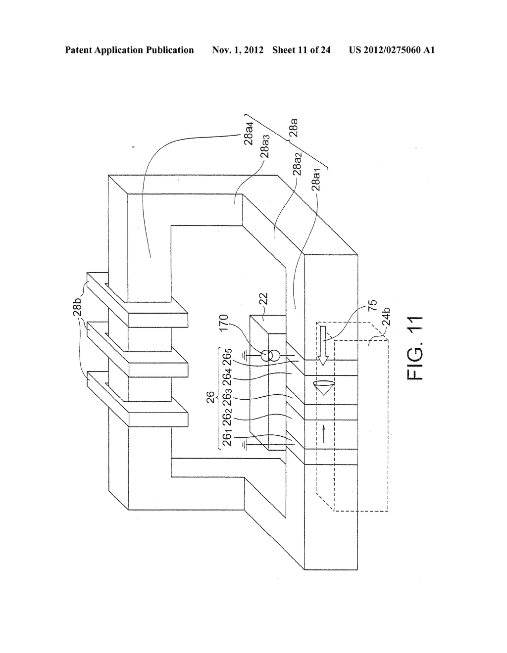 MAGNETIC HEAD WITH SPIN TORQUE OSCILLATOR AND MAGNETIC RECORDING HEAD - diagram, schematic, and image 12