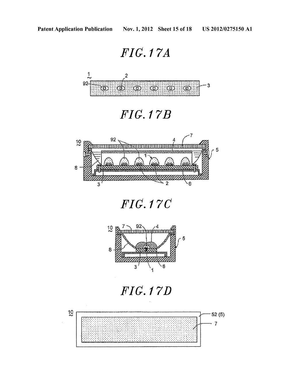 LIGHT EMITTING DEVICE AND ILLUMINATION APPARATUS INCLUDING SAME - diagram, schematic, and image 16