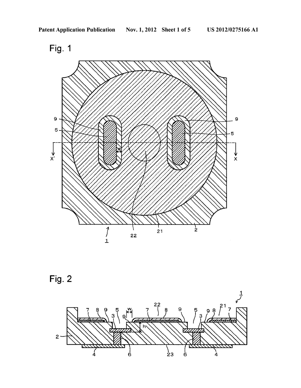 SUBSTRATE FOR MOUNTING LIGHT-EMITTING ELEMENT, ITS PRODUCTION PROCESS AND     LIGHT-EMITTING DEVICE - diagram, schematic, and image 02