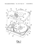 Hard Disk Drives With Composite Housings and Related Methods diagram and image