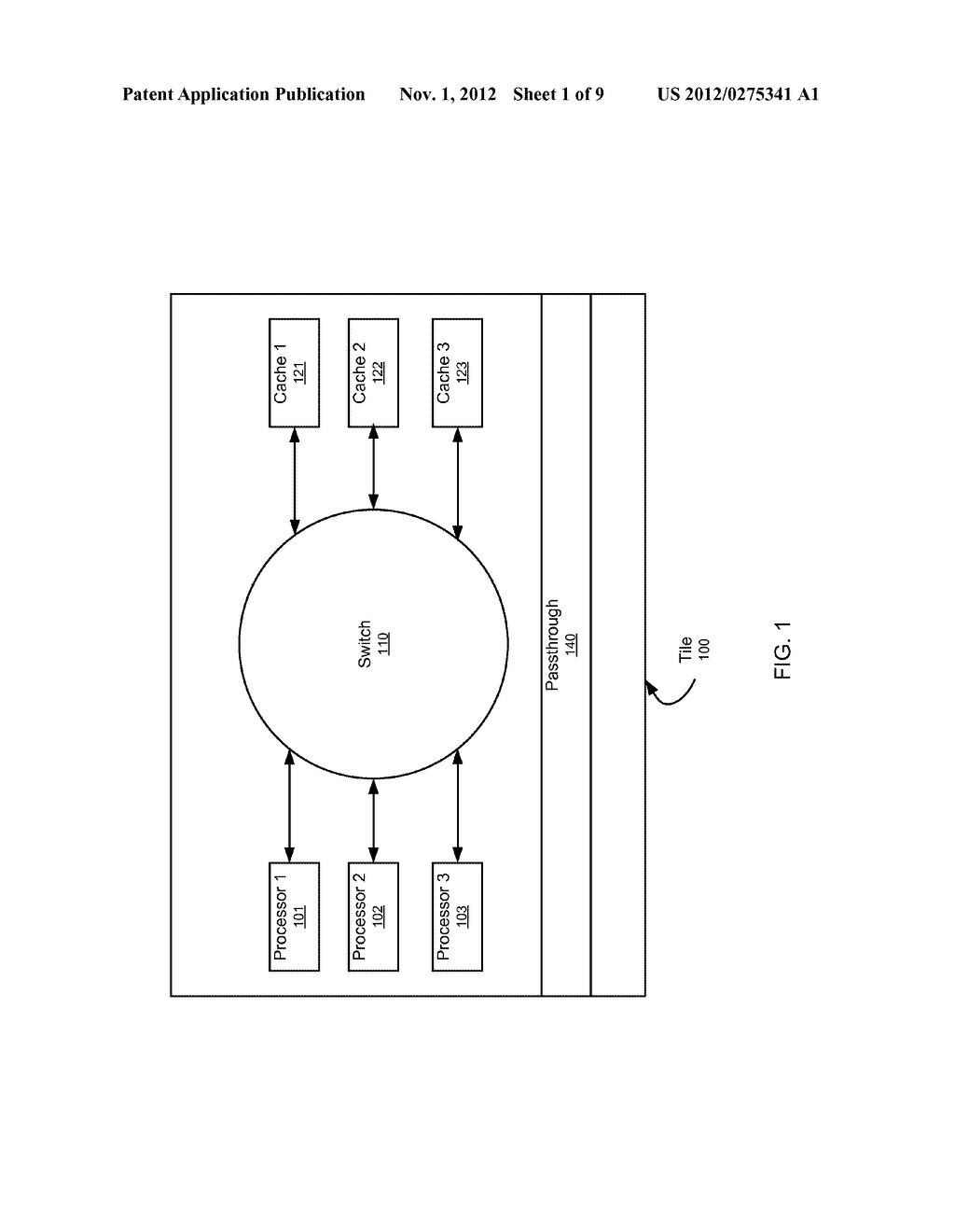 SYSTEM AND METHOD FOR IMPLEMENTING A MULTISTAGE NETWORK USING A     TWO-DIMENSIONAL ARRAY OF TILES - diagram, schematic, and image 02