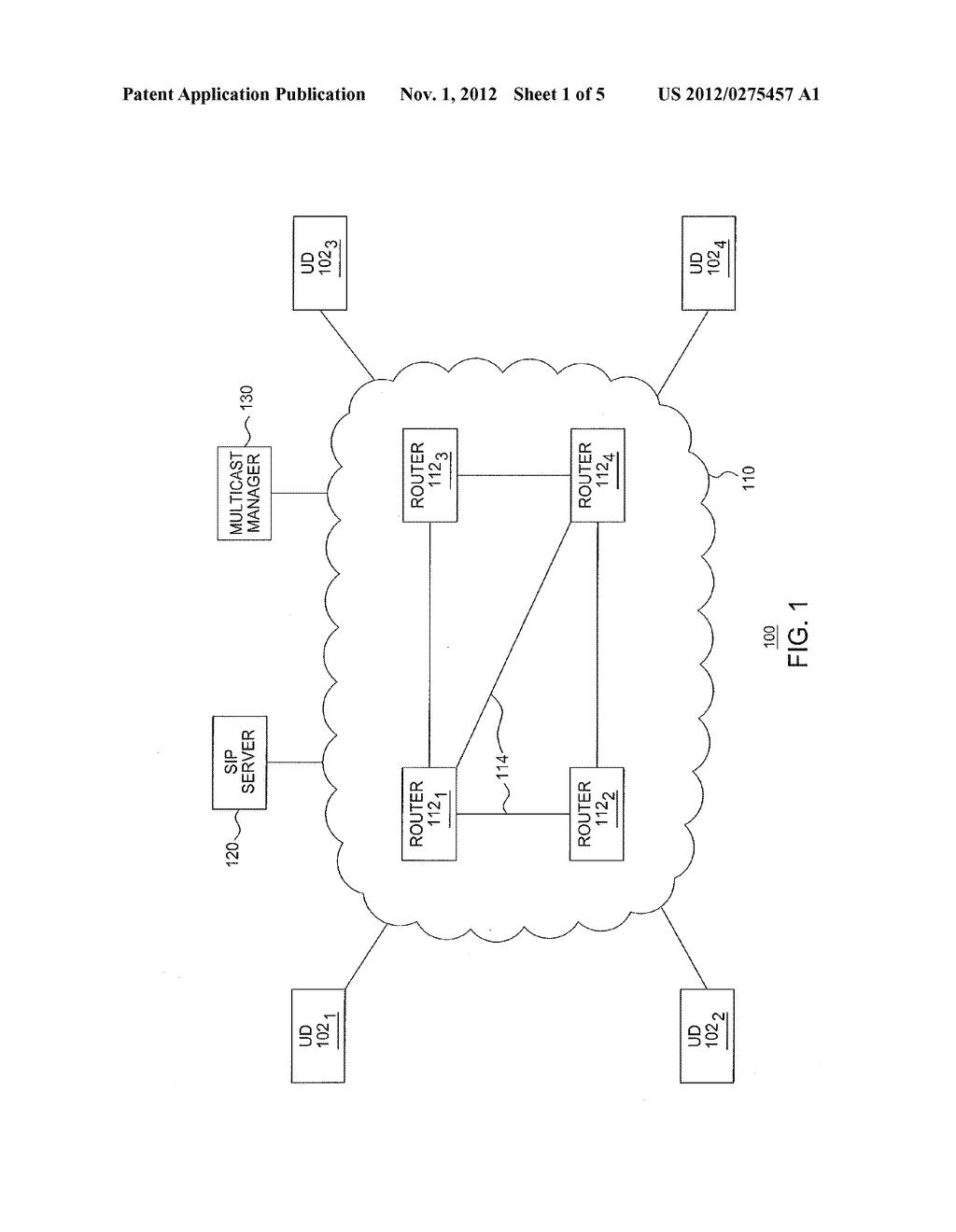 METHOD AND APPARATUS FOR ESTABLISHING MULTICAST GROUPS - diagram, schematic, and image 02