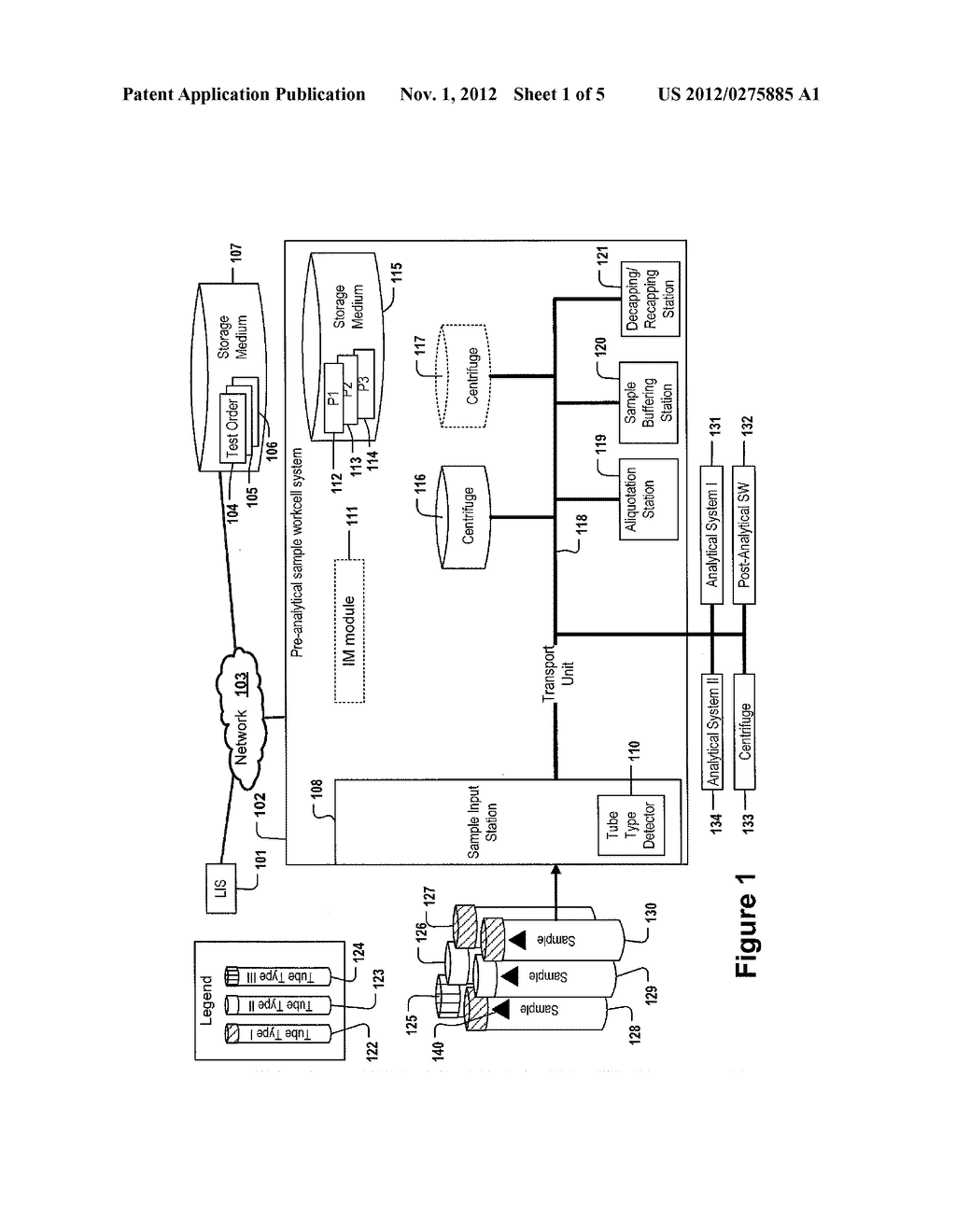 METHOD FOR OPERATING AN AUTOMATED SAMPLE WORKCELL - diagram, schematic, and image 02