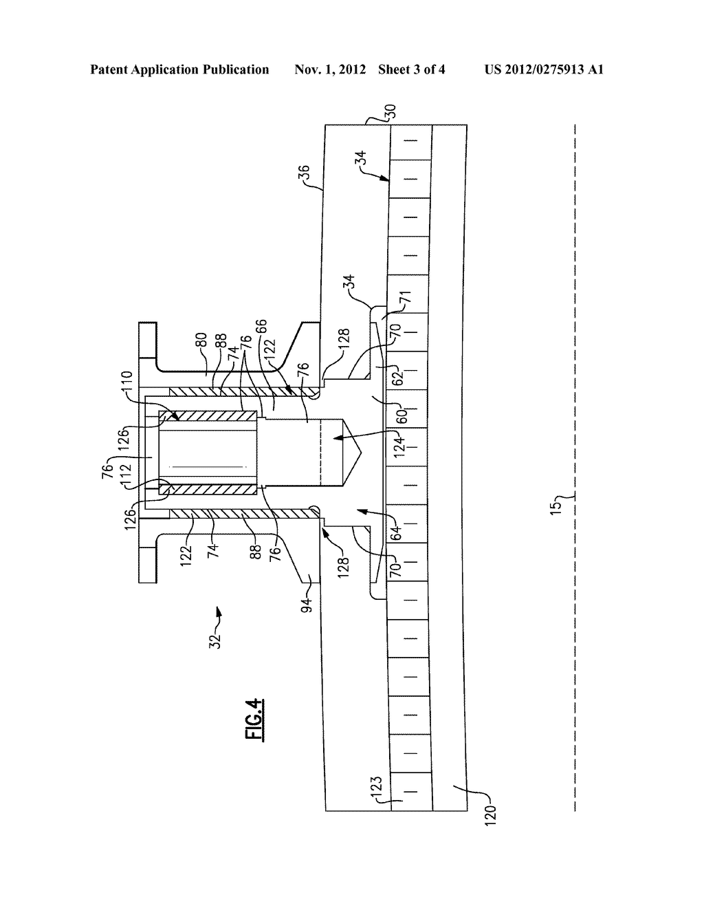 EXTERNAL THREADED MOUNT ATTACHMENT FOR FAN CASE - diagram, schematic, and image 04