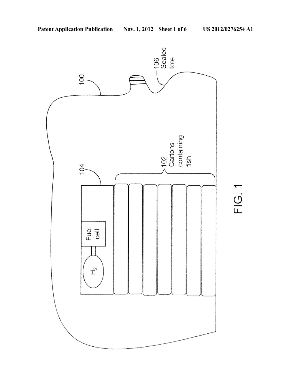 SYSTEM AND METHODS FOR TRANSPORTING OR STORING OXIDATIVELY-DEGRADABLE     FOODSTUFF - diagram, schematic, and image 02