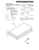 COVER TAPE, METHOD FOR MANUFACTURING COVER TAPE, AND ELECTRONIC PART     PACKAGE diagram and image