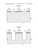 TRENCH TYPE SEMICONDUCTOR DEVICE AND FABRICATION METHOD FOR THE SAME diagram and image