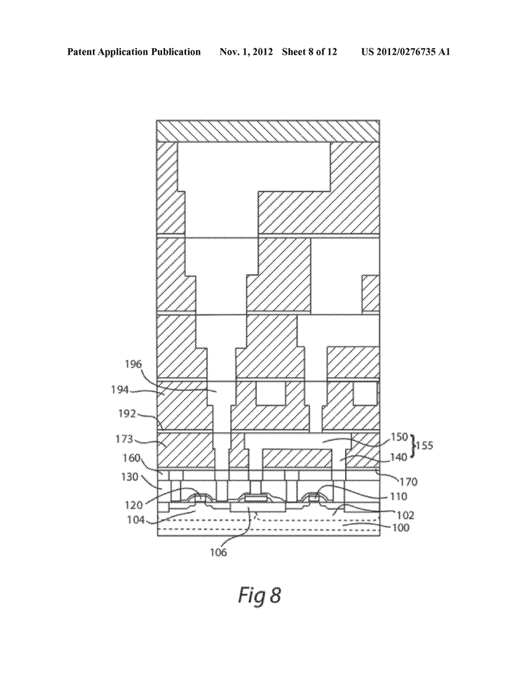 METHOD OF FORMING A SEMICONDUCTOR DEVICE - diagram, schematic, and image 09