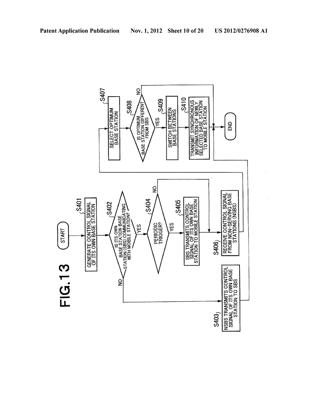 SYNCHRONIZATION SYSTEM AND SYNCHRONIZING METHOD FOR PLURALITY OF BASE     STATIONS AND MOBILE STATION IN A REVERSE LINK WIRELESS TRANSMISSION - diagram, schematic, and image 11