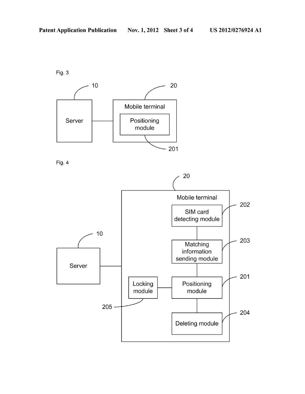 System and method for positioning mobile terminal, and mobile terminal - diagram, schematic, and image 04