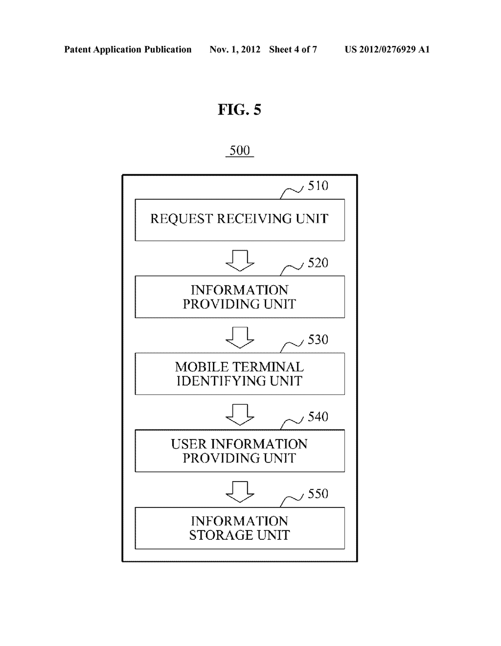 SOCIAL NETWORK SERVICE PROVIDING SYSTEM AND METHOD FOR SETTING     RELATIONSHIP BETWEEN USERS BASED ON MOTION OF MOBILE TERMINAL AND     DISTANCE DETERMINED BY USER - diagram, schematic, and image 05