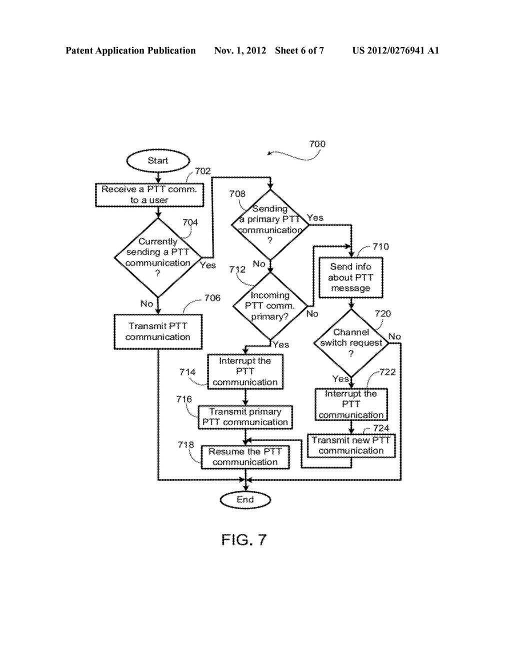 System and Method For Multiple Simultaneous Communication Groups in a     Wireless System - diagram, schematic, and image 07