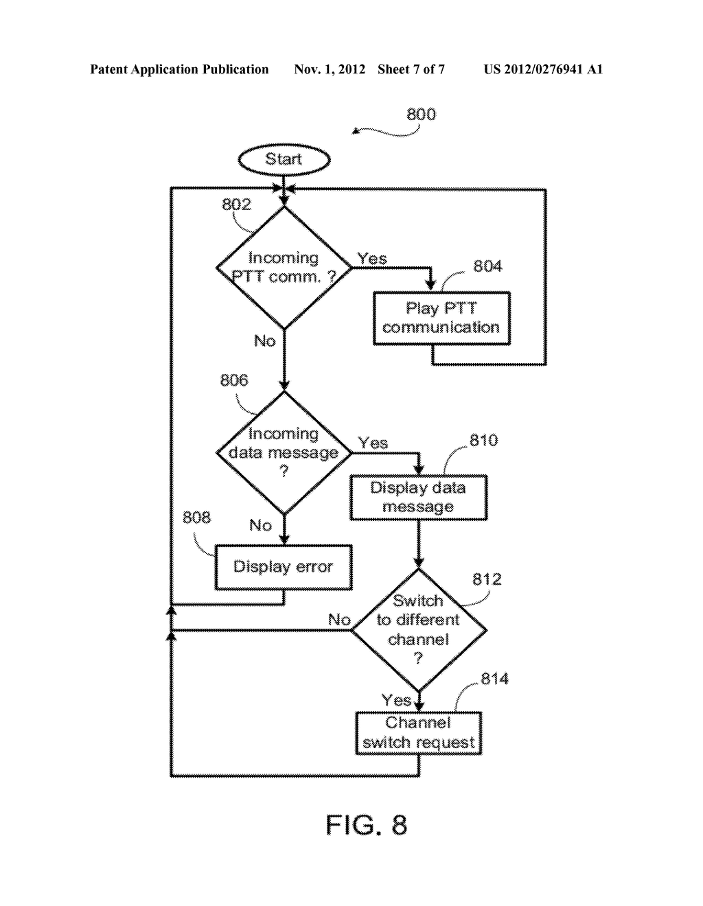 System and Method For Multiple Simultaneous Communication Groups in a     Wireless System - diagram, schematic, and image 08