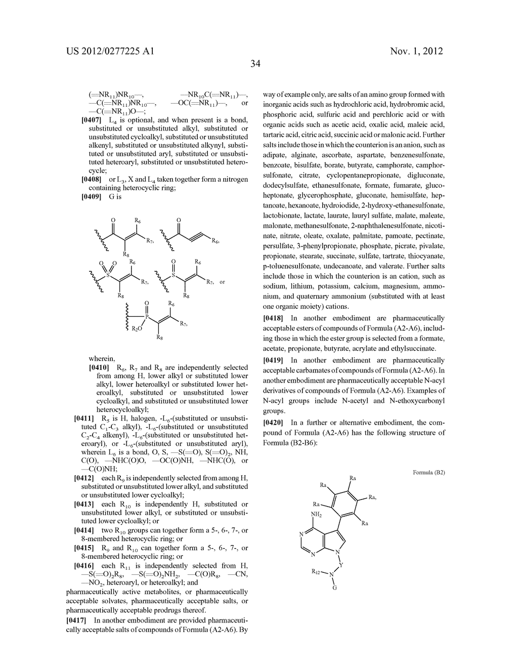 INHIBITORS OF BRUTON'S TYROSINE KINASE - diagram, schematic, and image 42