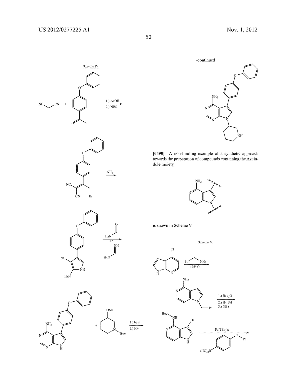 INHIBITORS OF BRUTON'S TYROSINE KINASE - diagram, schematic, and image 58