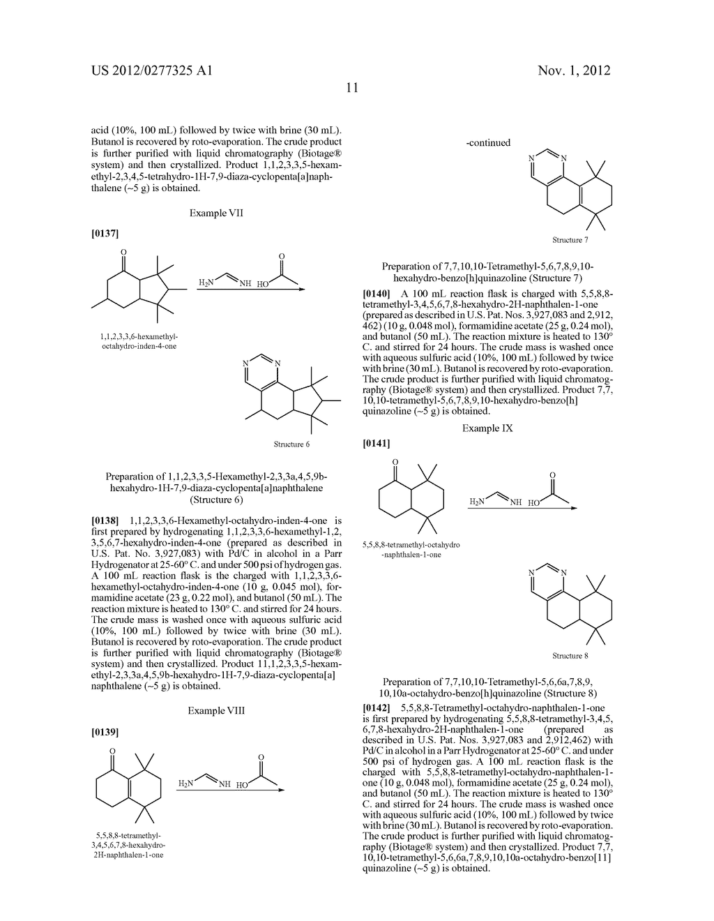 NOVEL PYRIMIDINE DERIVATIVES AND THEIR USE IN PERFUME COMPOSITIONS - diagram, schematic, and image 12