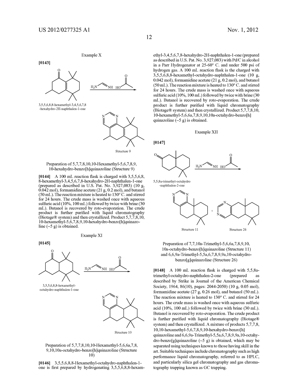 NOVEL PYRIMIDINE DERIVATIVES AND THEIR USE IN PERFUME COMPOSITIONS - diagram, schematic, and image 13