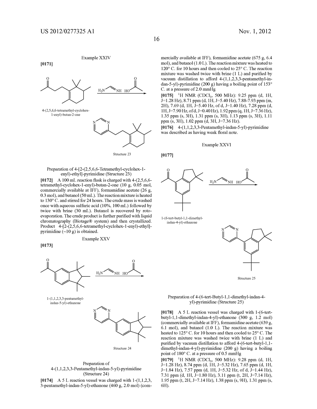 NOVEL PYRIMIDINE DERIVATIVES AND THEIR USE IN PERFUME COMPOSITIONS - diagram, schematic, and image 17